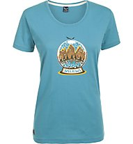 Salewa Demuth - T-Shirt trekking - donna, Light Blue
