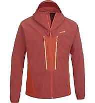 Salewa Dhaval - giacca con cappuccio trekking - uomo, Red