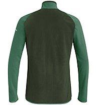 Salewa Drava 2 PL - giacca in pile - uomo, Dark Green/Green