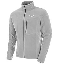 Salewa Drava - Fleecejacke Wandern - Herren, Light Grey