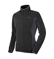 Salewa Drava PL - giacca in pile donna, Black Out