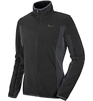 Salewa Drava - Fleecejacke Wandern - Damen, Black