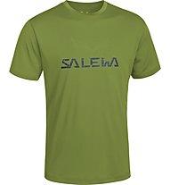 Salewa Puez (Dreizin) Dry'ton T-shirt trekking, Basilico