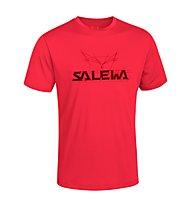 Salewa Puez (Dreizin) - T-Shirt Wander - Herren, Red