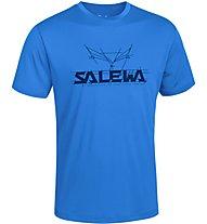 Salewa Puez (Dreizin) Dry'ton - T-shirt trekking - uomo, Blue