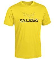Salewa Puez (Dreizin) Dry'ton - T-shirt trekking - uomo, Yellow