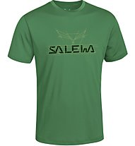 Salewa Puez (Dreizin) Dry'ton - T-shirt trekking - uomo, Green