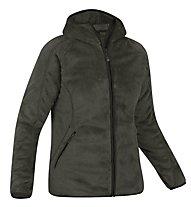 Salewa Dzong Mel PL W Jacket Giacca in pile donna, Ebano Mel