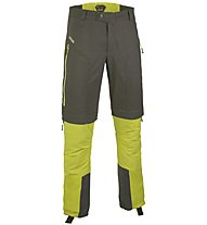 Salewa Erzlan Zip-Off Skitourenhose, Carbon