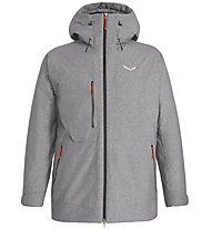 Salewa Fanes 2 PTX/TW CLT - giacca con cappuccio - uomo, Grey