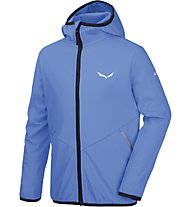 Salewa Fanes 2 SW K Jkt Kinder Softshell- und Windjacke, Blue