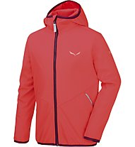 Salewa Fanes 2 - Softshelljacke Wandern - Kinder, Red