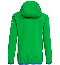 Salewa Fanes 2 - Softshelljacke Wandern - Kinder, Green