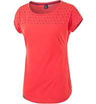 Salewa Fanes Abstract DRY T-Shirt Damen, Red