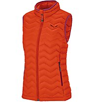 Salewa Fanes Dwn W Vst Gilet in piuma Donna, Red