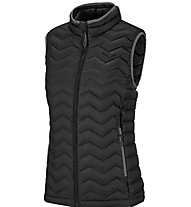 Salewa Fanes Dwn W Vst Gilet in piuma Donna, Black
