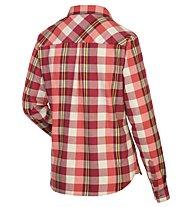 Salewa Fanes Flannel 2 PL - Langarmbluse Wandern - Damen, Red