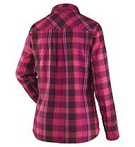 Salewa Fanes Flannel 2 PL - Langarmbluse Wandern - Damen, Pink