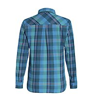 Salewa Fanes Flannel 2 PL - Langarmbluse Wandern - Damen, Light Blue