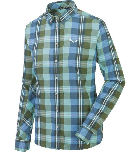09f5931921 Salewa Fanes Flannel 2 - camicia a maniche lunghe trekking - donna    Sportler.com