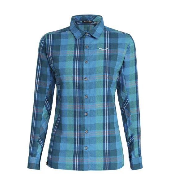 c302d118bb Salewa Fanes Flannel 2 - camicia a maniche lunghe - donna   Sportler.com