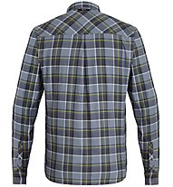 Salewa Fanes Flannel 4 Pl - Langarm-Bluse Bergsport - Herren, Grey