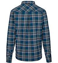 Salewa Fanes Flannel 4 Pl - Langarm-Bluse Bergsport - Herren, Blue
