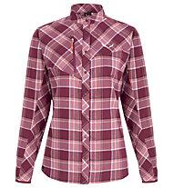Salewa Fanes Flannel 4 Pl - Langarm-Bluse Bergsport - Damen, Rose/Red