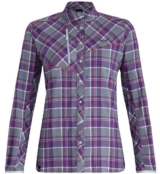 68f6397c49 Salewa Fanes Flannel 4 Pl - camicia a maniche lunghe - donna   Sportler.com