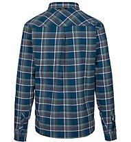 Salewa Fanes Flannel 4 Pl - camicia a maniche lunghe - uomo, Blue