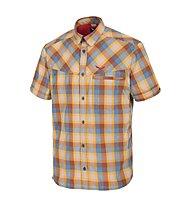 Salewa Fanes Hike DRY - camicia a maniche corte trekking - uomo, Brown