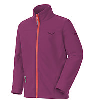 Salewa Giacca in pile Fanes PL Full-Zip, Red Onion