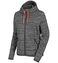 Salewa Fanes Pl - Fleecejacke Skitour - Damen, Dark Grey