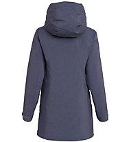 Salewa Fanes PTX/TWC - giacca con cappuccio - donna, Dark Blue