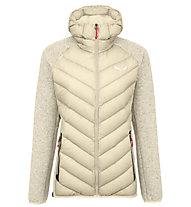Salewa Fanes Sarner Dwn Hybrid - giacca ibrida - donna, Beige