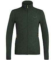 Salewa Fanes Sarner Light Wool - Strickjacke - Herren, Dark Green