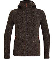 Salewa Fanes Shearling Wool - Kapuzenjacke Bergsport - Herren, Brown