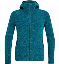 Salewa Fanes Shearling Wool - giacca con cappuccio - uomo, Light Blue