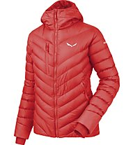 Salewa Ortles Medium - Daunenjacke mit Kapuze - Damen, Light Red
