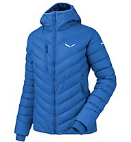 Salewa Ortles Medium - Daunenjacke mit Kapuze - Damen, Light Blue