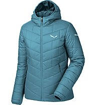 Salewa Fanes Tw Clt - Isolationsjacke mit Kapuze Wandern - Damen, Light Blue