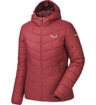 Salewa Fanes Tw Clt - Isolationsjacke mit Kapuze Wandern - Damen, Red