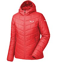 Salewa Fanes Tw Clt - Isolationsjacke mit Kapuze Wandern - Damen, Light Red