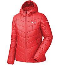 Salewa Fanes Tw Clt - giacca con cappuccio trekking - donna, Light Red