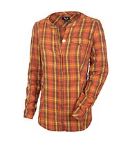 Salewa Fareda PL Bluse, M Tortilla/Terracotta/Honey