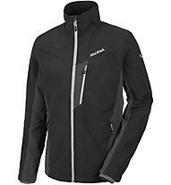 Salewa Federspiel SW - giacca softshell trekking - uomo, Black