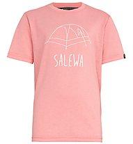 Salewa Frea Melange Dry - T-Shirt Bergsport - Kinder, Pink
