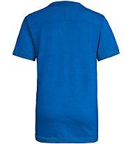 Salewa Frea Melange Dry - T-Shirt Bergsport - Kinder, Light Blue