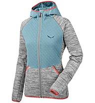 Salewa Frea Quilt Pl - giacca in pile arrampicata - donna, Grey
