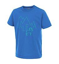 Salewa Frea Stambecco Klettershirt Kinder, Royal Blue